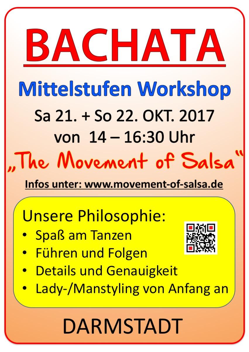 Bachata Mittelstufen Workshop in Darmstadt