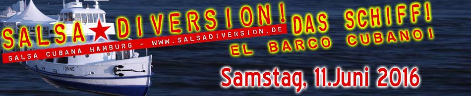 El Barco Cubano - Das Salsa Schiff Salsaparty in Hamburg