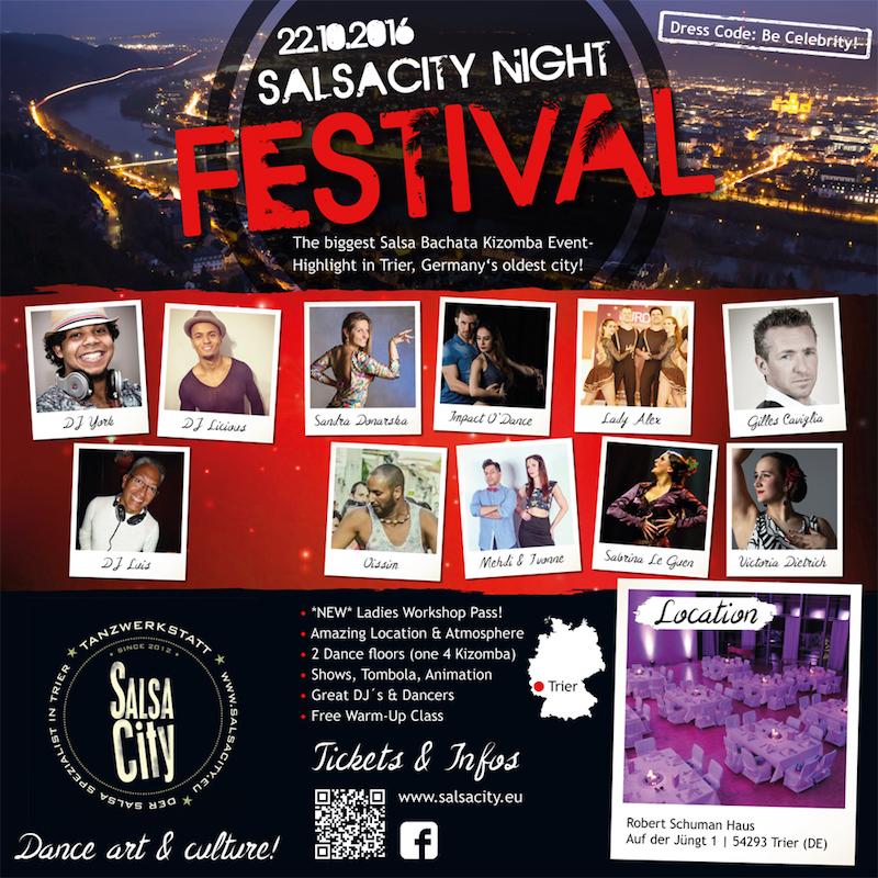 SALSACity Night - FESTIVAL Trier in Trier