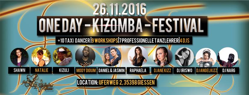 Gießen' One Day Kizomba-Festival in Gießen