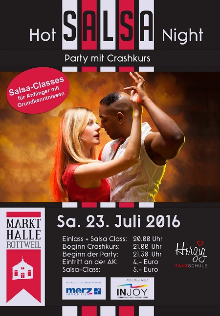 HOT SALSA NIGHT in Rottweil