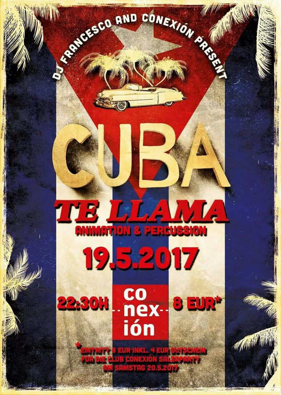 Cuba te llama Party und Kizomba Night in Frankfurt am Main