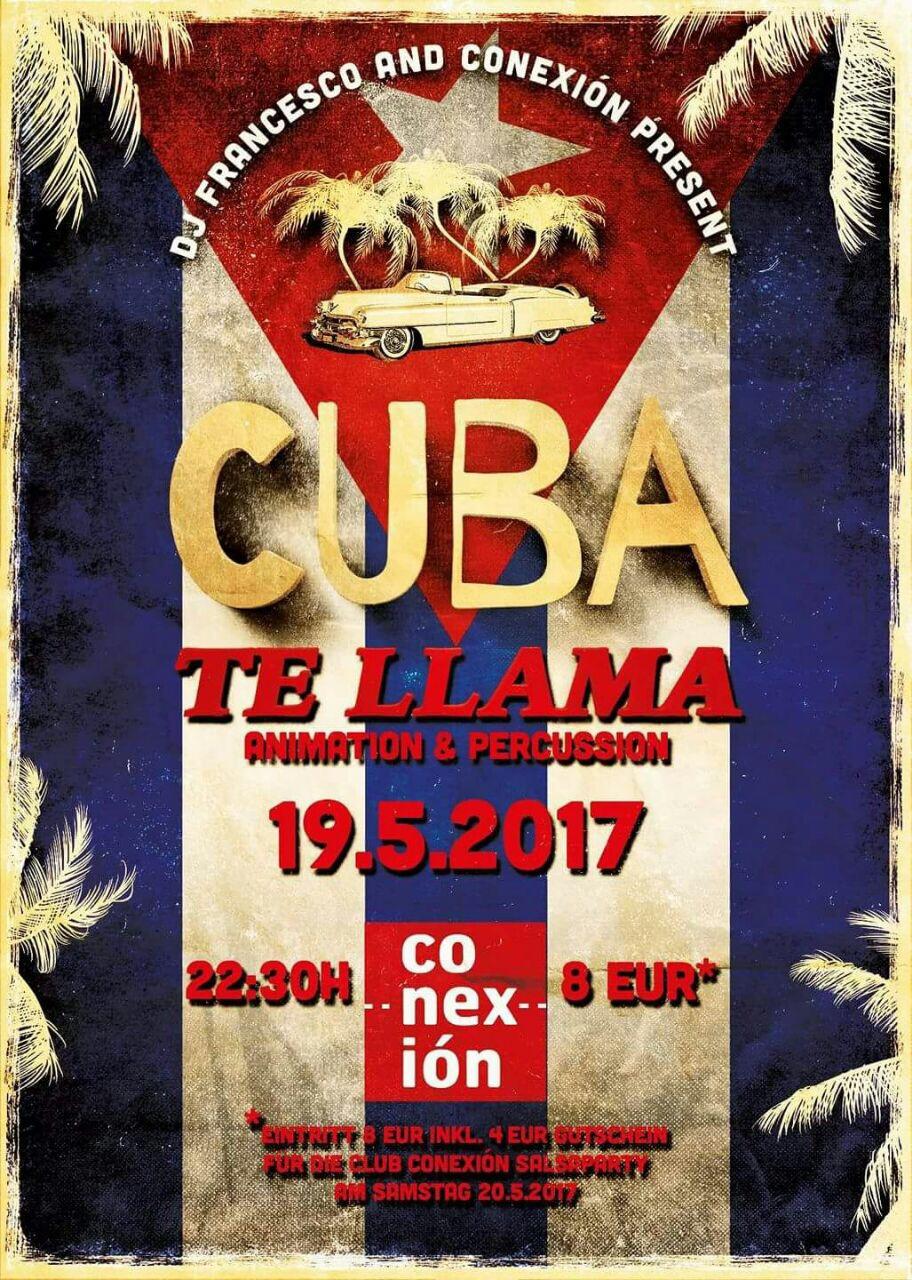 Cuba te llama Party und Kizomba Night in Frankfurt am Main