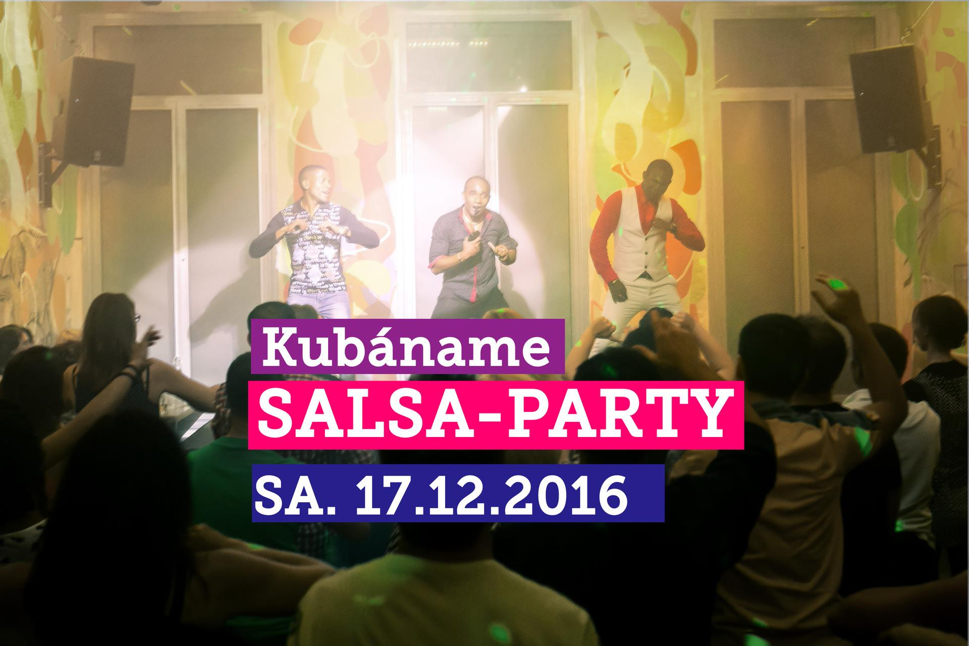 Kubáname Salsa Party in Dresden