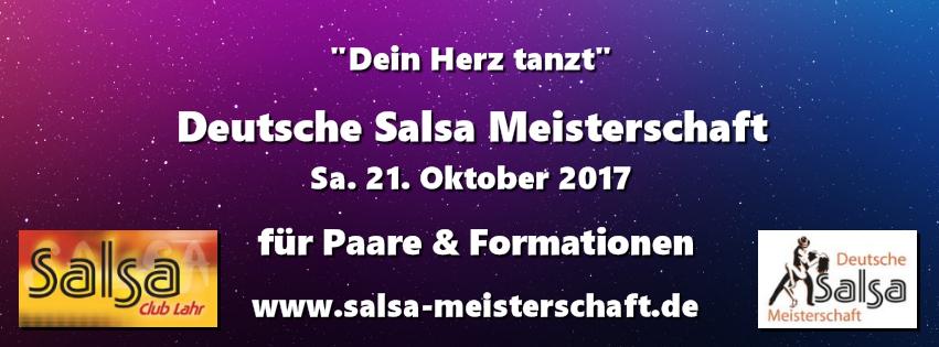 Deutsche Salsa Meisterschaft 2017 in Lahr