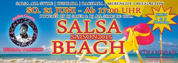 SALSA BEACH SAISON 2015 in Mannheim