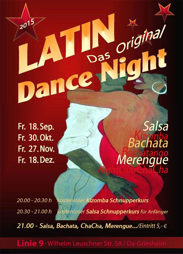 Latin Dance Night @ Linie Neun in Darmstadt
