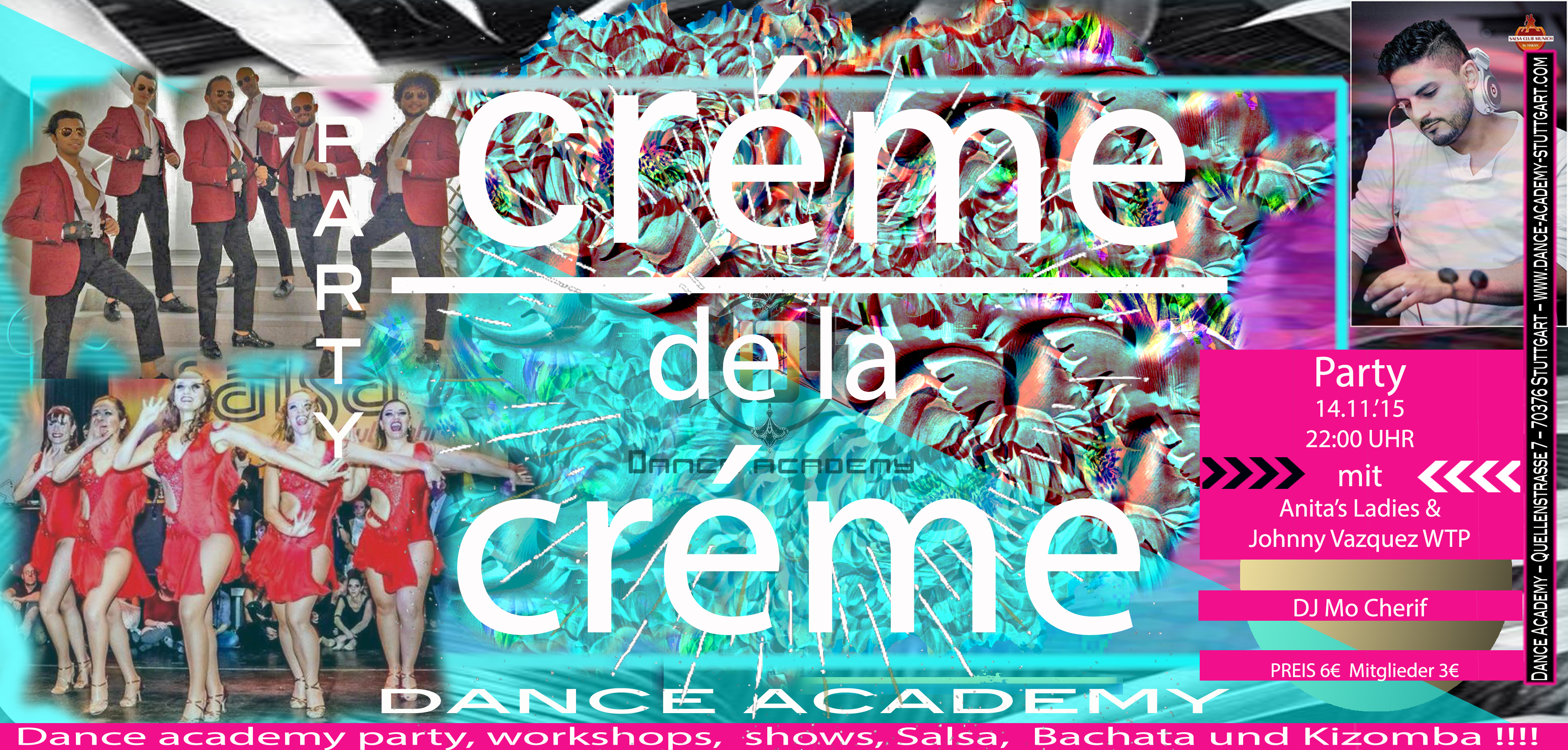 Creme de la Creme Salsa Party in Stuttgart