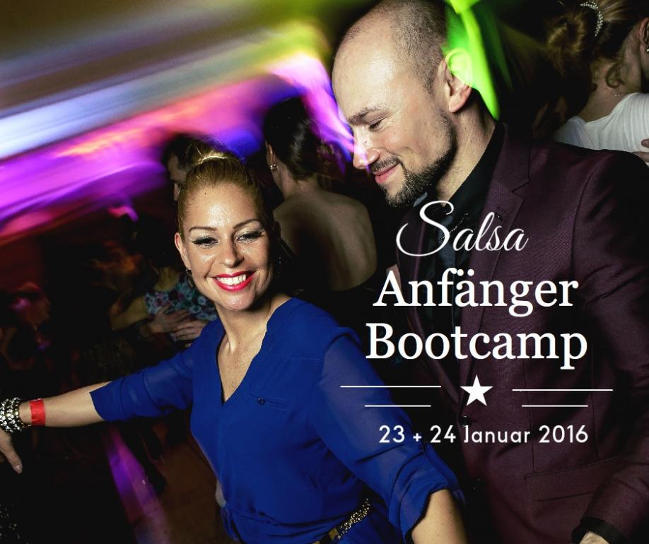 SALSA ANFÄNGER BOOTCAMP 23+24 JANUAR 2016 Salsa Workshop in Hannover