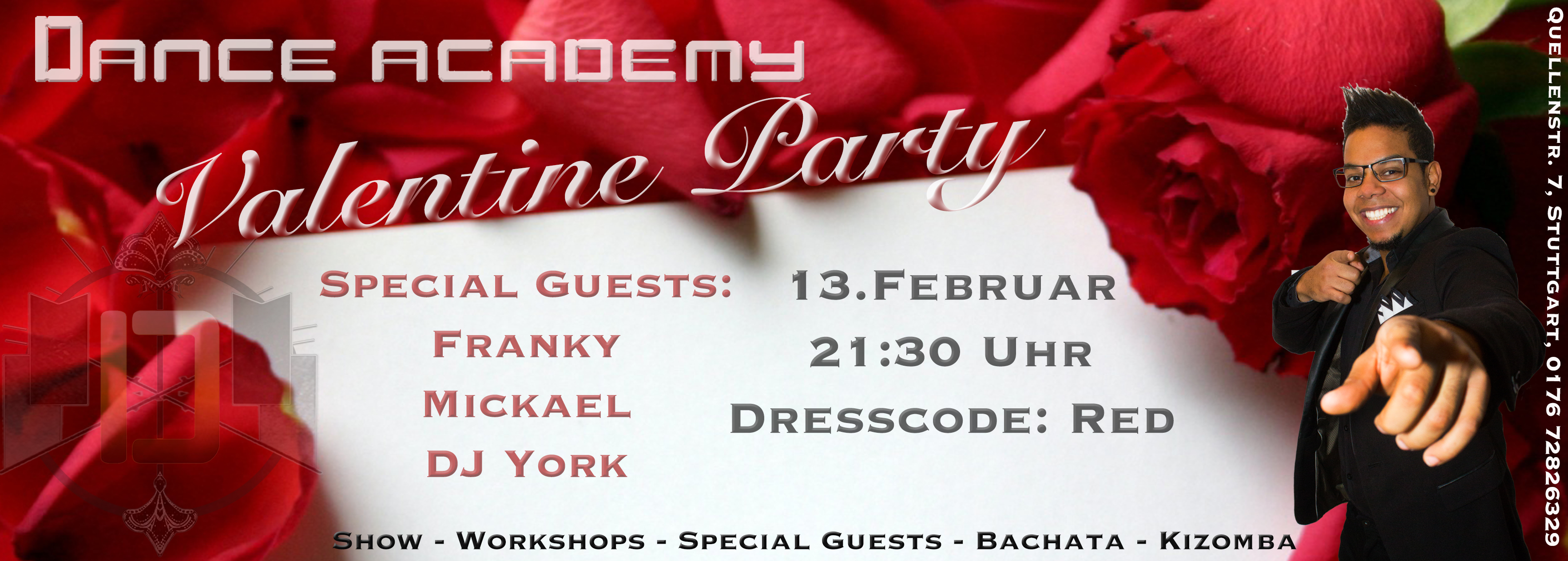 Bachata/Kizomba Party mit Special Guests in Stuttgart