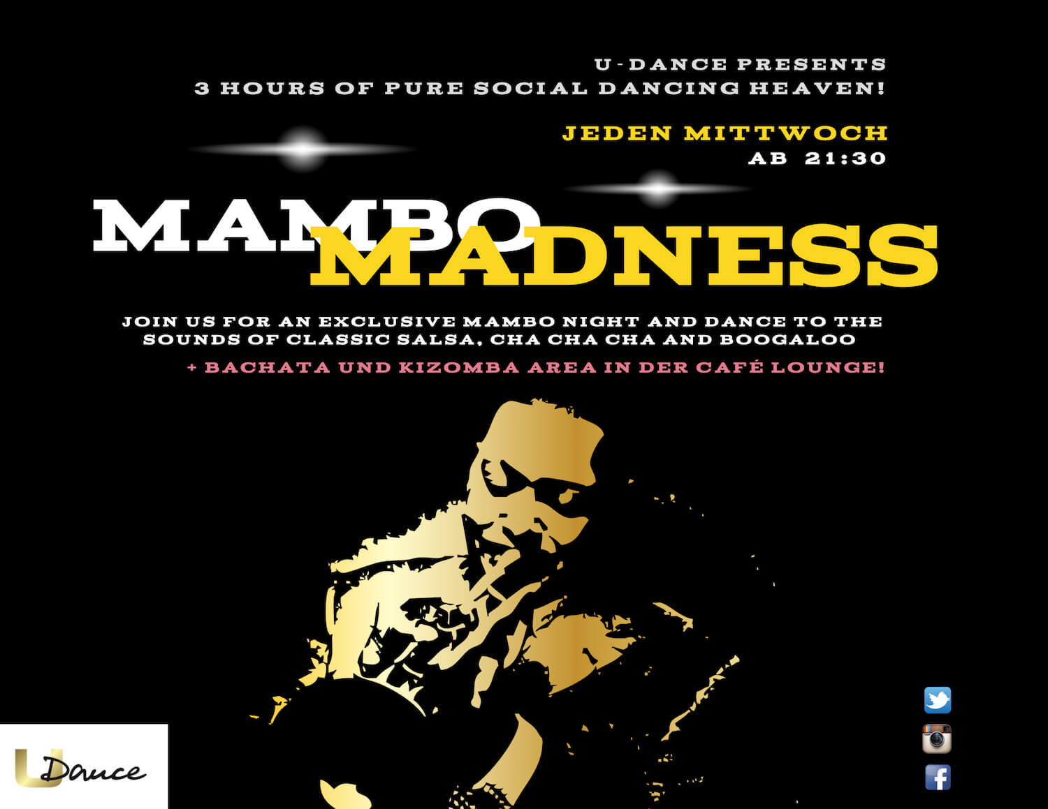JEDEN MITTWOCH MAMBO MADNESS PARTY in Hannover