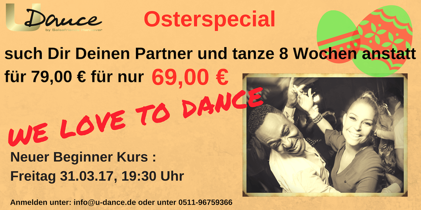 Oster Special Tanzkurs in Hannover