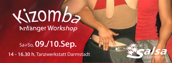 Kizomba Workshop für Einsteiger in Darmstadt