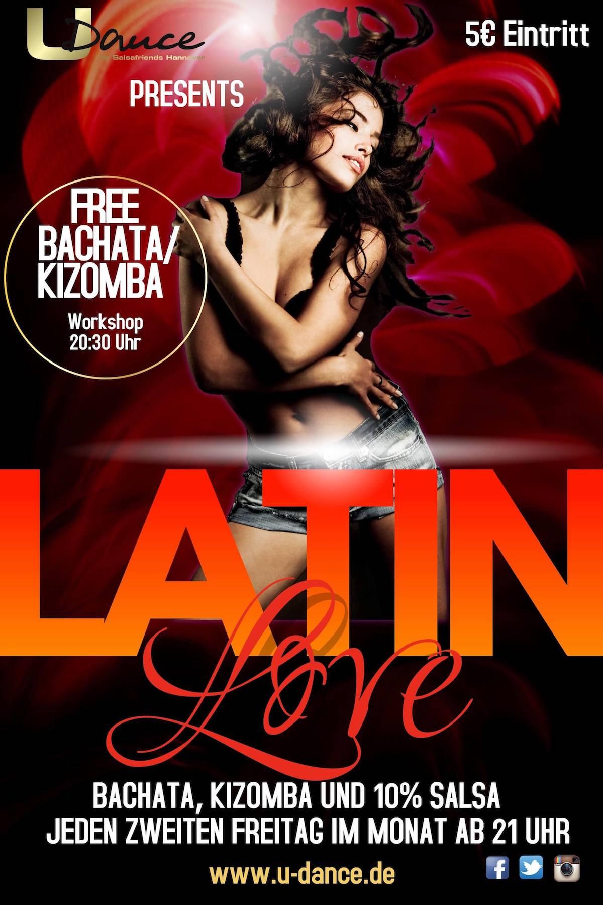 Latin Love Party mit Kizomba Bachata & Salsa in Hannover