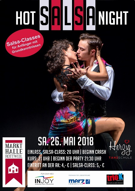 HOT SALSA NIGHT in der Markthalle Rottweil in Rottweil