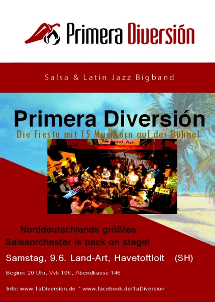 Latin Night mit PRIMERA DIVERSIÓN in Hamburg