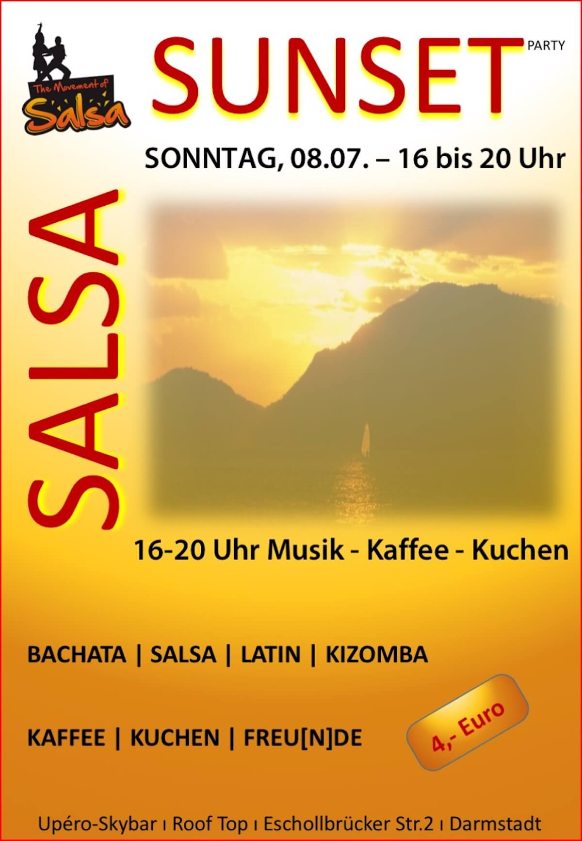 Salsa Sunset in Darmstadt