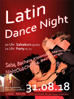 Latin Dance Night @ Linie Neun in Darmstadt