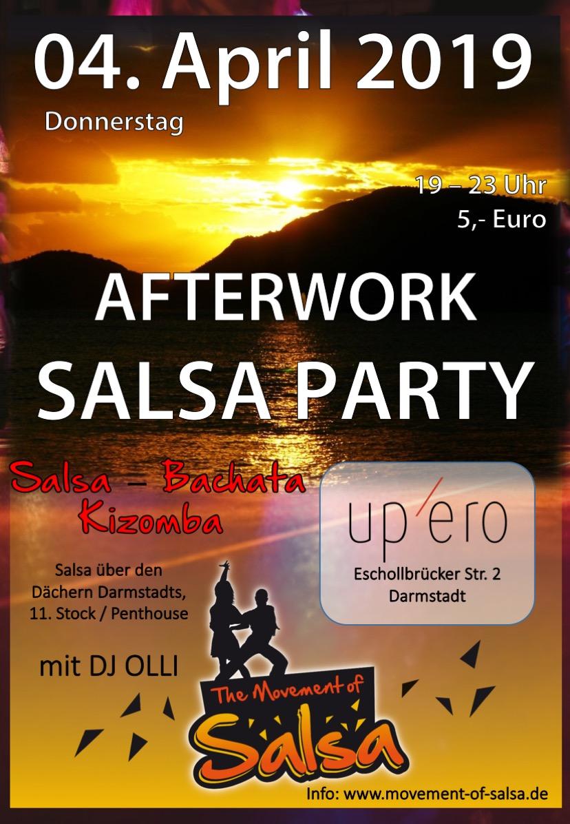 Salsa Afterwork mi DJ Olli in Darmstadt