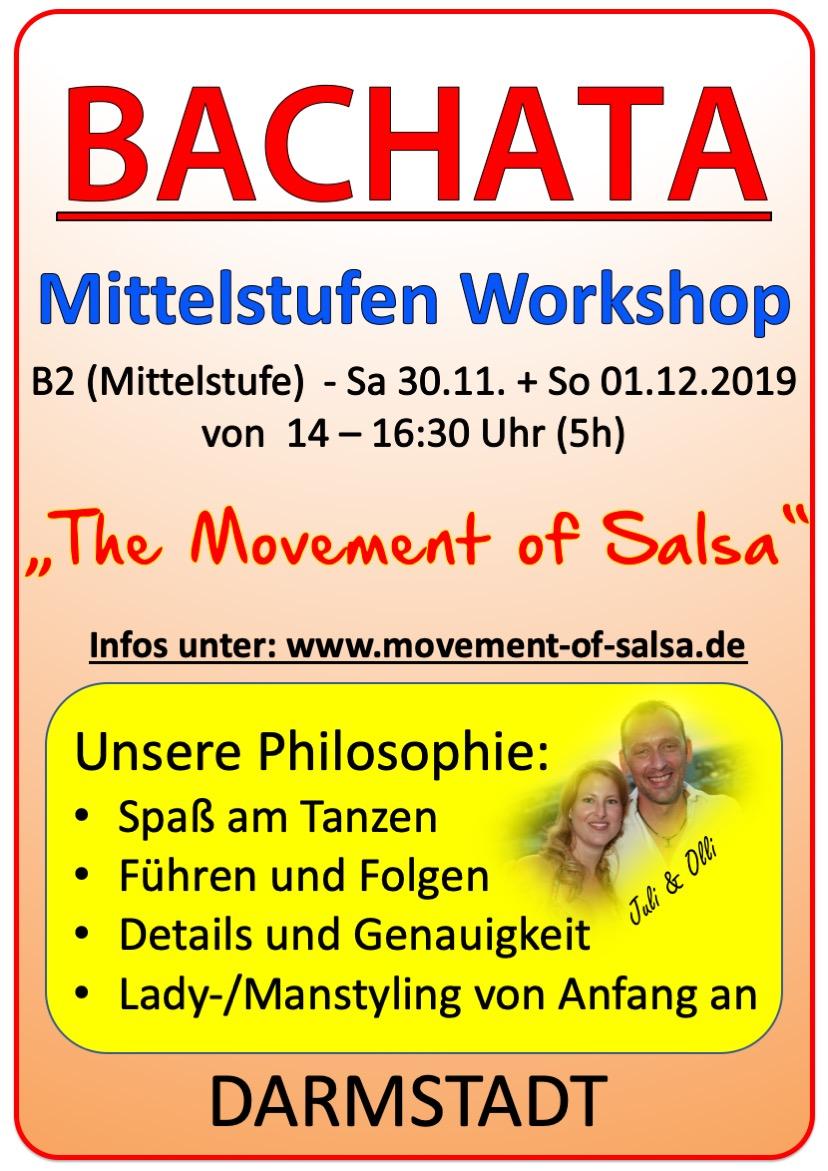 Bachata Mittelstufe in Darmstadt