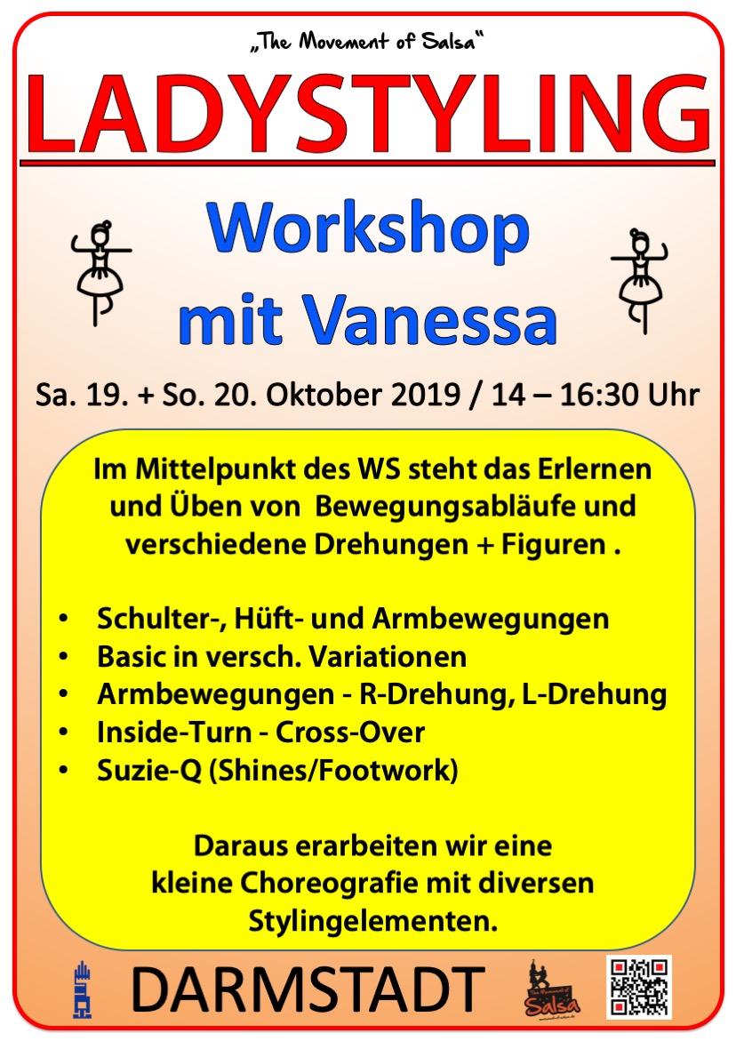 Salsa Ladystyling mit Vanessa in Darmstadt