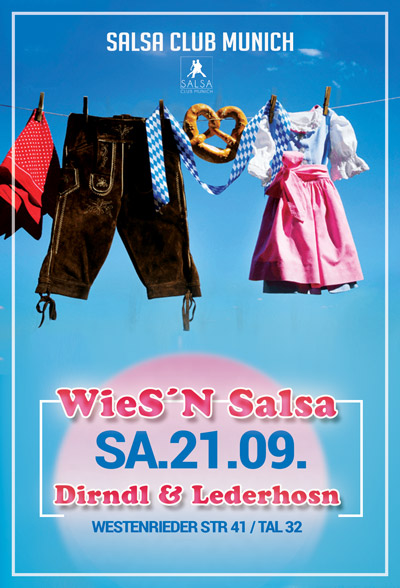 Wiesn Salsa Opening in München