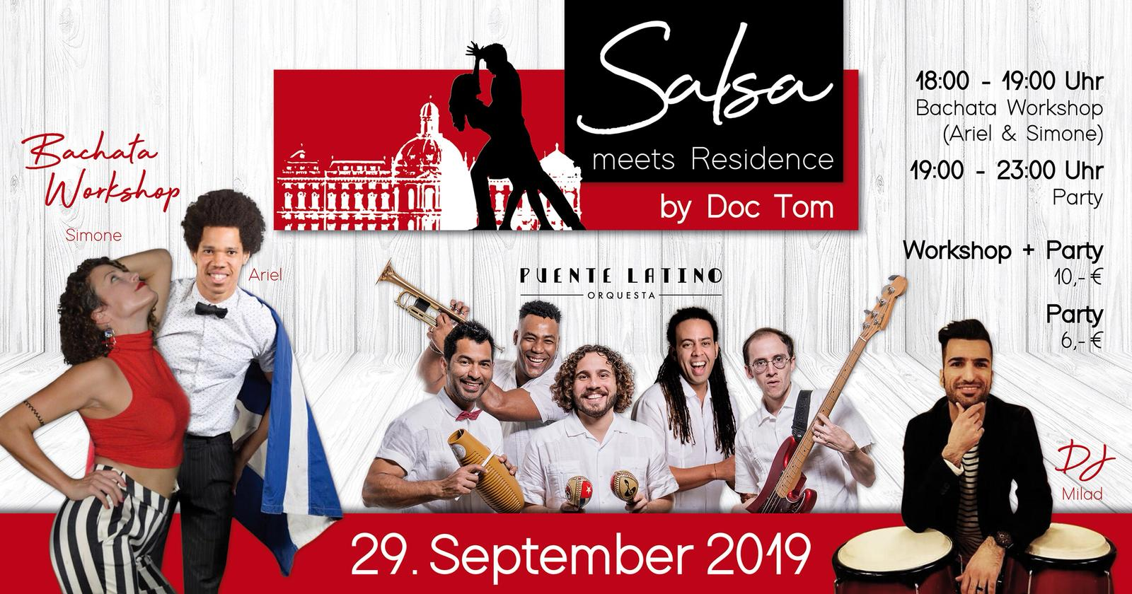 Salsa Meets Residence by Doc Tom 29.9.19 WÜRZBURG in Würzburg