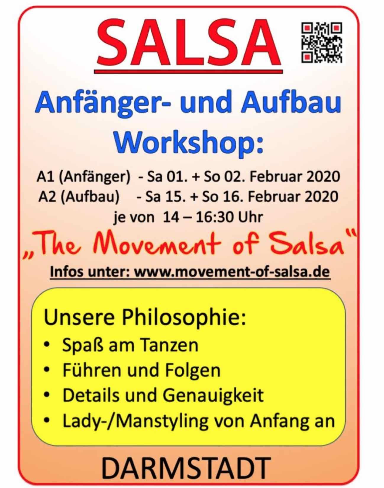 Salsa Anfänger Workshop in Darmstadt