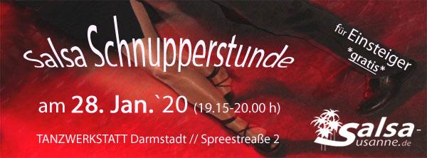Gratis Salsa Schnupperstunde in Darmstadt