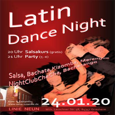 Latin Dance Night @ Linie 9 - Das Original! in Darmstadt