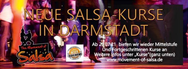 Salsa Kurse M + F in Darmstadt
